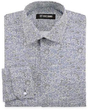 Stacy Adams Long Sleeve Woven Floral Dress Shirt