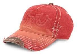 True Religion Denim Cotton Baseball Cap