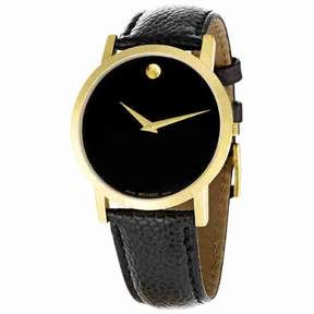 Movado Classic Museum Black Dial Men's Watch 0606180