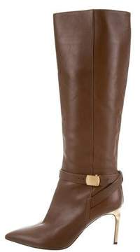 Calvin Klein Collection Leather Knee-High Boots