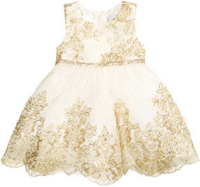 Rare Editions Embroidered Party Dress, Baby Girls (0-24 months)