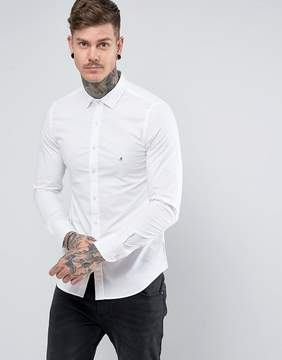 Replay Slim Stretch Poplin Shirt