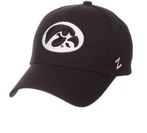 Zephyr Iowa Hawkeyes Black & White Competitor Cap