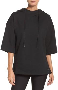 Alo Women's Crop Sleeve Oversize Hoodie