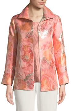 Caroline Rose Sitting Pretty Floral Jacquard Jacket