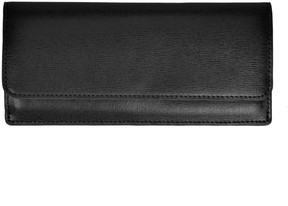 Royce Leather RFID-Blocking Saffiano Clutch