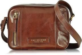 The Bridge Passpartout Donna Marrone Leather Camera Bag