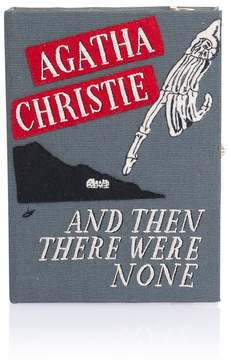 Olympia Le-Tan Olympia Le Tan Olympia Le Tan | And Then There Were None Book Clutch