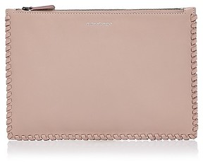 Mackage Port Zip Leather Pouch