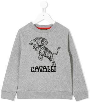 Roberto Cavalli printed tiger sweatshirt