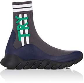 Fendi Men's Hope & Try Tech-Knit Sneakers