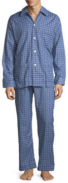 Derek Rose Ledbury 1 Classic-Fit Pajama Set