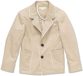 Marie Chantal Boys Gabardine Jacket - Stone