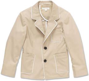 Marie Chantal Boys Gabardine Jacket - Stone
