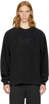 Alexander Wang Black Fleece Classic Black Sweatshirt
