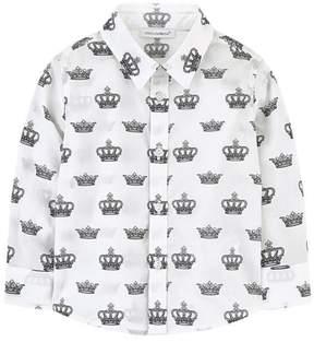 Catimini Crown Print Shirt