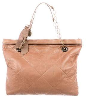 Lanvin Leather Carry Me Tote