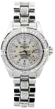 Breitling Super Ocean Chronmometre Stainless Steel Automatic Mens Watch