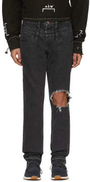 GUESS Midnight Studios Black Edition Slim Tapered Jeans