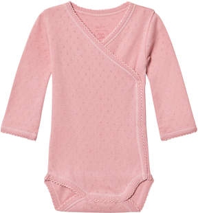 Mini A Ture Noa Noa Miniature Blush Long Sleeve Baby Body