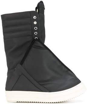 Rick Owens wide sneaker boots