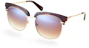 Balmain Tortoiseshell-Look BL2502 Square Sunglasses