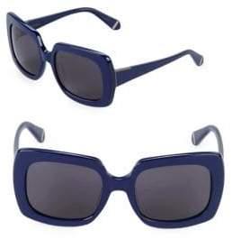 Zac Posen Mounia 54MM Square Sunglasses