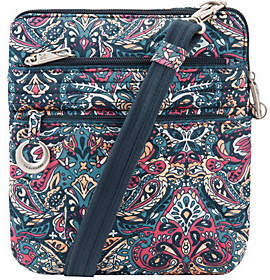 Travelon Anti-Theft Cotton Boho Slim Bag
