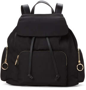 French Connection Black Henley Backpack