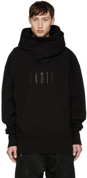 Julius Black Twisted Hoodie