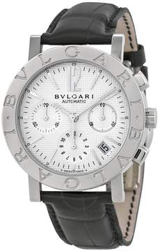 Bvlgari Chronograph Stainless Steel Men's Watch BB38WSLDCH.N