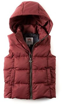 Appaman Camper Hooded Puffer Vest, Size 2-10