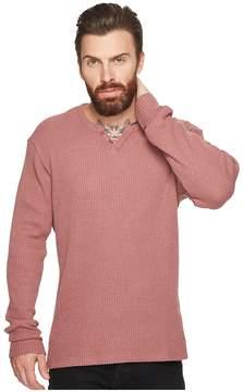 Joe's Jeans Wintz Long Sleeve Waffle Henley Men's Clothing