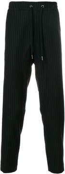 Antonio Marras pinstripe drawstring trousers