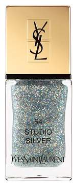 Yves Saint Laurent 'La Laque Couture' Night 54 Fall Collection Nail Lacquer - 54 Studio Silver