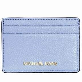 Michael Kors Money Pieces Leather Card Holder- Pale Blue - PALE BLUE - STYLE