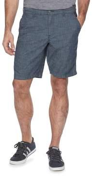 Marc Anthony Men's Slim-Fit Crosshatch Chambray Shorts