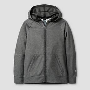 Champion Boys' Textured Tech Fleece Full Zip Hoodie