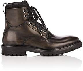 John Varvatos Men's Catskill Leather & Wool Lace-Up Boots