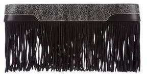 Rag & Bone Leather Fringe-Trimmed Belt
