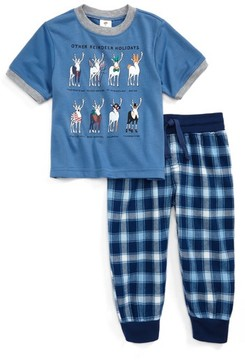 Tucker + Tate Toddler Boy's Graphic Two-Piece Pajamas Set