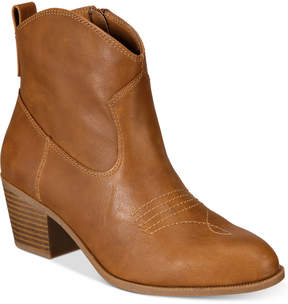 Style&Co. Style & Co Mandyy Western Booties, Created for Macy's Women's Shoes