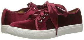 Chinese Laundry Fillmore Velvet Sneaker Women's Lace up casual Shoes