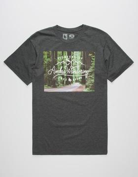 Hippy-Tree HIPPYTREE Redwoods Mens T-Shirt