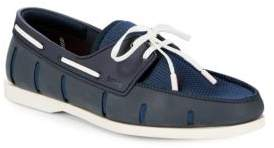 Swims Lace-Up Boat Shoes