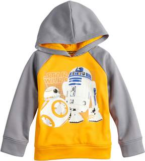 Star Wars Jumping Beans Toddler Boy R2D2 & BB8 Raglan Hoodie