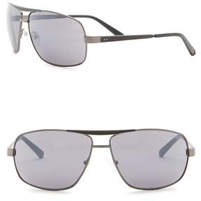 GUESS 64mm Navigator Sunglasses