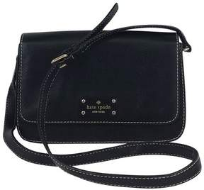 Kate Spade Black Pebbled Leather Crossbody Bag