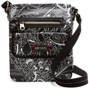 SAKROOTS Art Circle Small Flip Messenger Bag