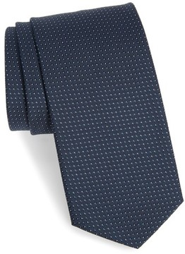 BOSS Men's Dot Silk Tie